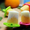 香橙酸奶冰棍#单挑夏天#