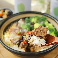 豆豉排骨煲仔饭