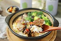 豆豉排骨煲仔饭的做法