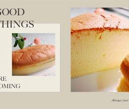 一款不加淡奶油不加黄油的百香果轻乳酪(芝士)蛋糕的做法