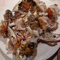 香辣梭子蟹的做法图解2