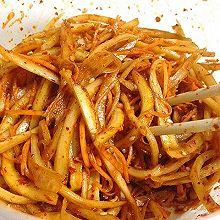 拌桔梗~东北名字;狗宝咸菜