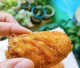 #以美食的名义说爱她#蒜香炸鸡翅的做法