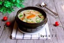 海鲜香菇青菜粥的做法