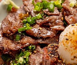 日式平底锅烤肉 | 清新爽口的做法