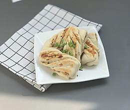 #麦子厨房#小红锅#香煎肉松花卷的做法