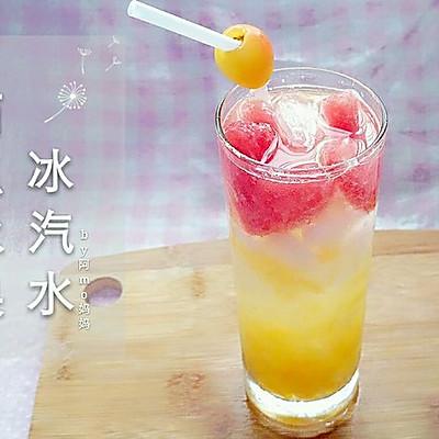 ♡西瓜水果♡-冰汽水