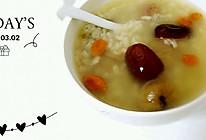 红枣桂圆粥的做法