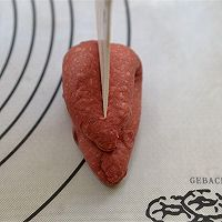 【番茄配方】蔓越莓心形蛋糕的做法图解9