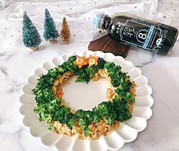 圣诞花环炒饭的做法