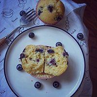 #520,美食撩动TA的心!#会爆浆的小蛋糕-蓝莓马芬的做法图解10