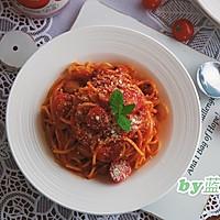 猪肉肠番茄意面#厨房有维达洁净超省心#的做法图解15