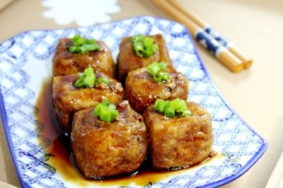豆腐泡塞肉