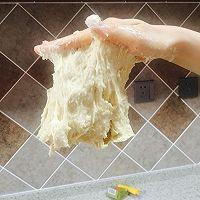 手工和面快速揉出手套膜(面包)——不摔打,不醒面的做法图解4