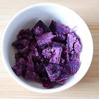 燕麦紫薯奶香米糊的做法图解4