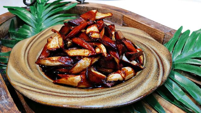 【茭白杏鲍菇❤️傻傻分不清楚】素食本帮菜蜜桃爱营养师私厨的做法