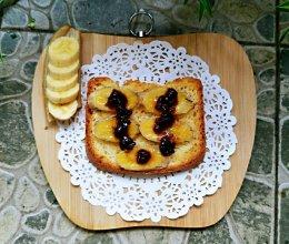 香蕉蜂蜜烤吐司的做法