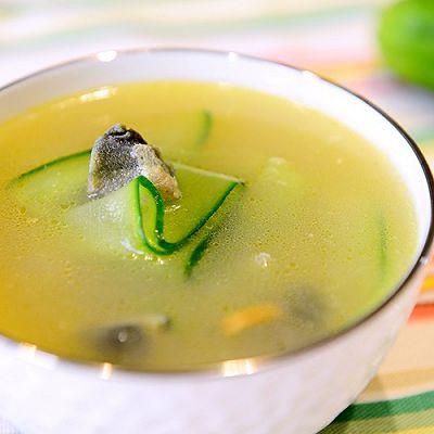 家常菜-黄瓜皮蛋汤(夏日消暑汤)