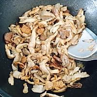 平菇小炒肉的做法图解8