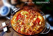上乘境界养颜美容汤=风味独特的西红柿鸡蛋银鱼汤的做法