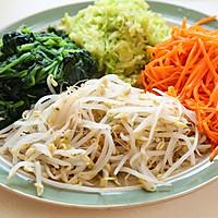 韩式石锅拌饭的做法图解1