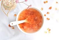 #洗手作羹汤#美容养颜桃胶皂角米羹的做法