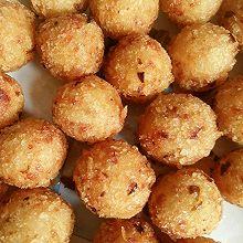 油炸红薯球