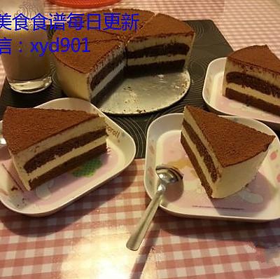 轻松几步做出美味提拉米苏(巧克力海绵蛋糕版)
