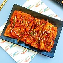 #我要上首焦#韩式酱汁烧豆腐