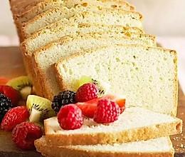 磅蛋糕也可以低油低脂:酸奶香蕉磅蛋糕的做法
