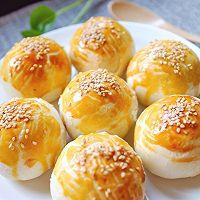 白莲蓉蛋黄酥的做法图解29