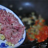 酸笋丁炒肉末#樱花味道#的做法图解7