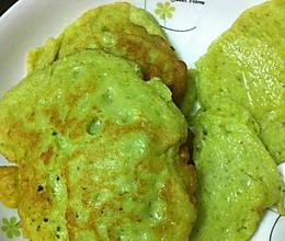 新鲜黄豆鸡蛋饼#ErgoChef原汁机食谱#的做法