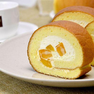 【芒果蛋糕卷】——COUSS CM-1200厨师机出品