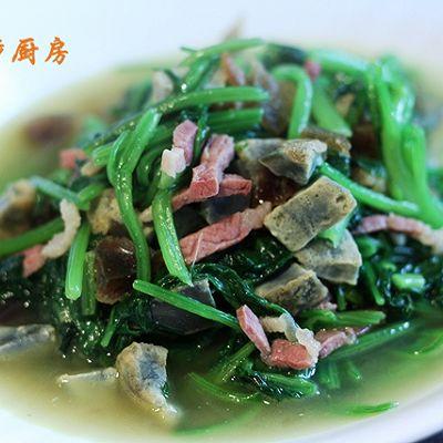 曼步厨房 - 上汤菠菜