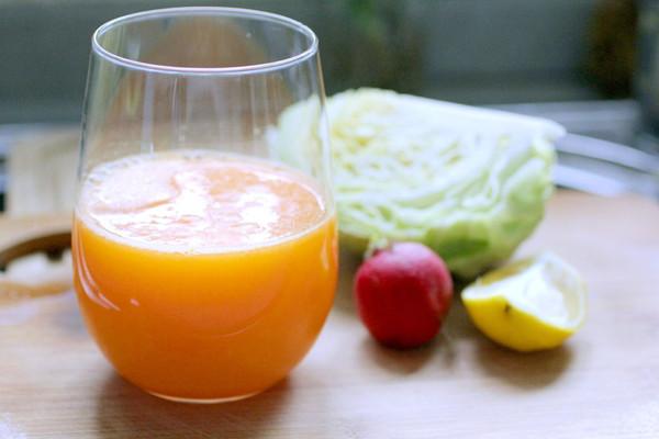 卷心菜橙综合蔬果汁的做法