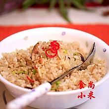 香菇糙米饭