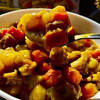 咖喱鸡翅土豆#百梦多圆梦季#的做法图解10