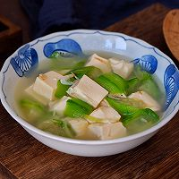 虾皮丝瓜豆腐汤的做法图解8