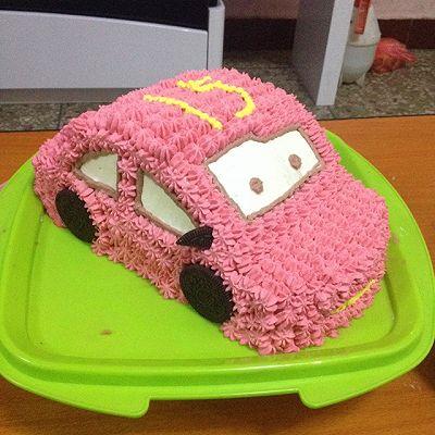 麦坤汽车生日蛋糕