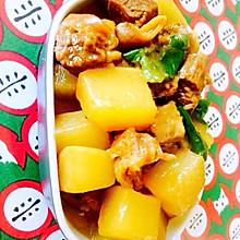 牛腩炖萝卜-冬吃萝卜夏吃姜