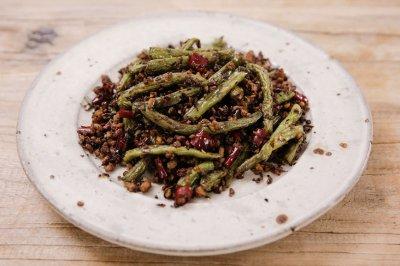 干煸四季豆|美食台