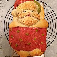 圣诞爷爷面包#圣诞烘趴 为爱起烘#的做法图解11