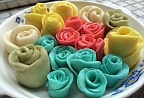 玫瑰花馒头(入门级)的做法