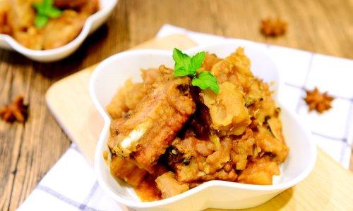 家常菜-荔浦芋头烧排骨(芋头烧排骨)的做法