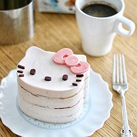 Kitty草莓慕斯蛋糕的做法图解11