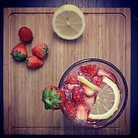 草莓柠檬鸡尾酒的做法图解10