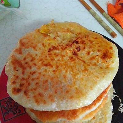 新年早餐~萝卜丝鸡蛋馅饼
