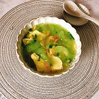 #花10分钟,做一道菜!#黄瓜虾米蛋汤的做法图解11