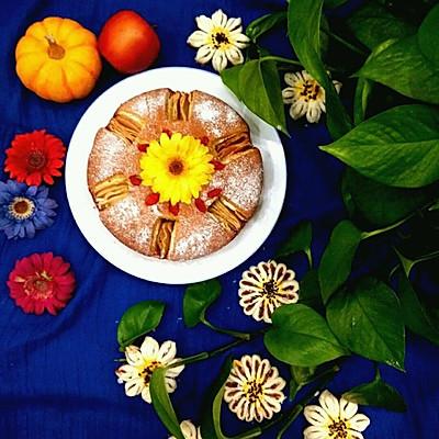苹果磅蛋糕